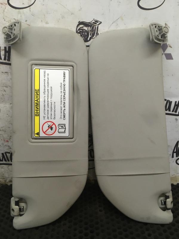 Козырек солнцезащитный Citroen C-Elysee TU5 2013 (б/у)
