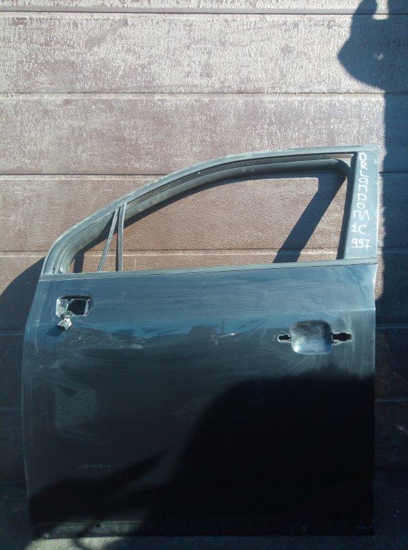 Дверь Chevrolet Orlando F18D4 2012 передняя левая (б/у)