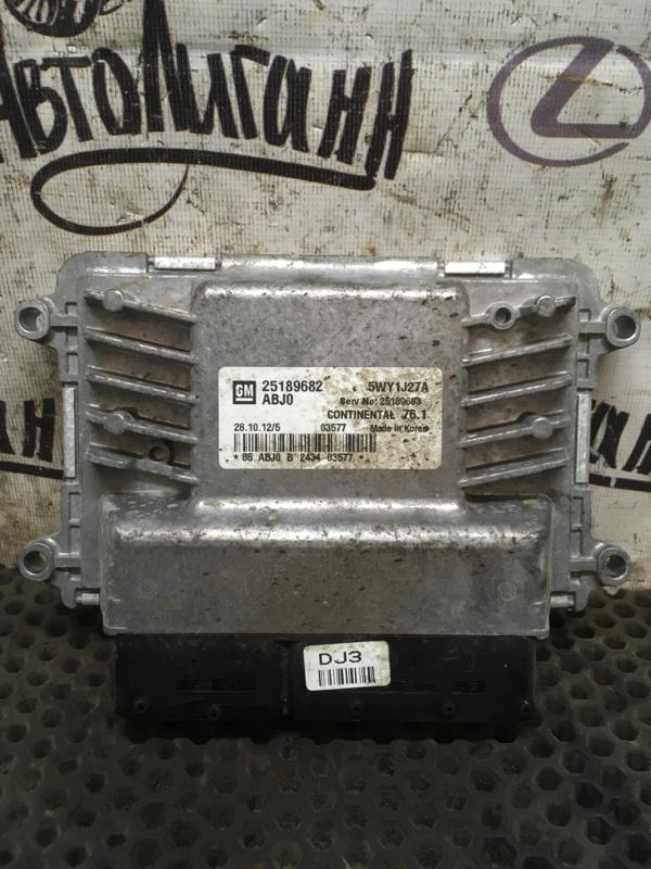 Блок управления двигателем Chevrolet Orlando F18D4 2012 (б/у)