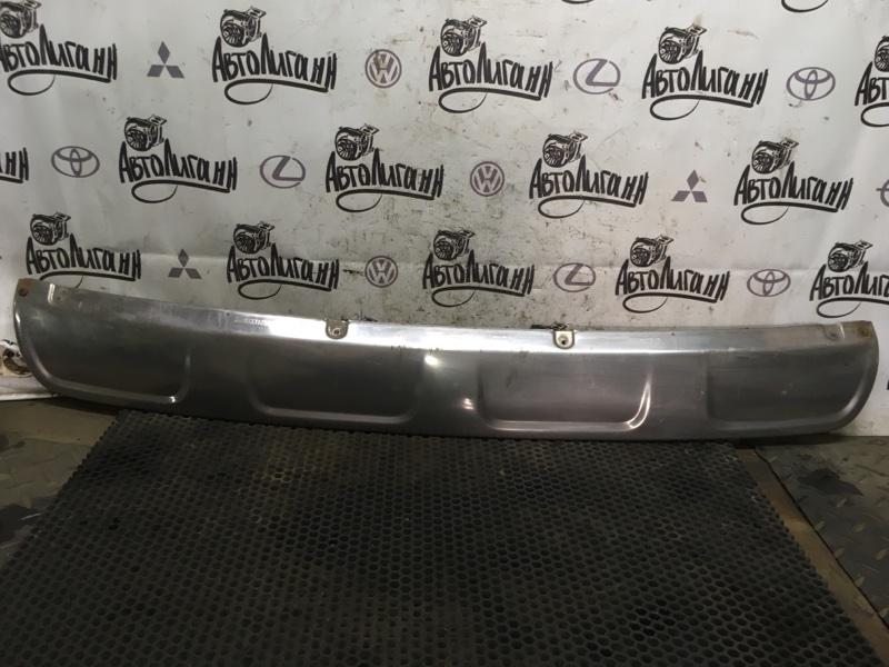 Накладка на бампер Peugeot 3008 задняя (б/у)