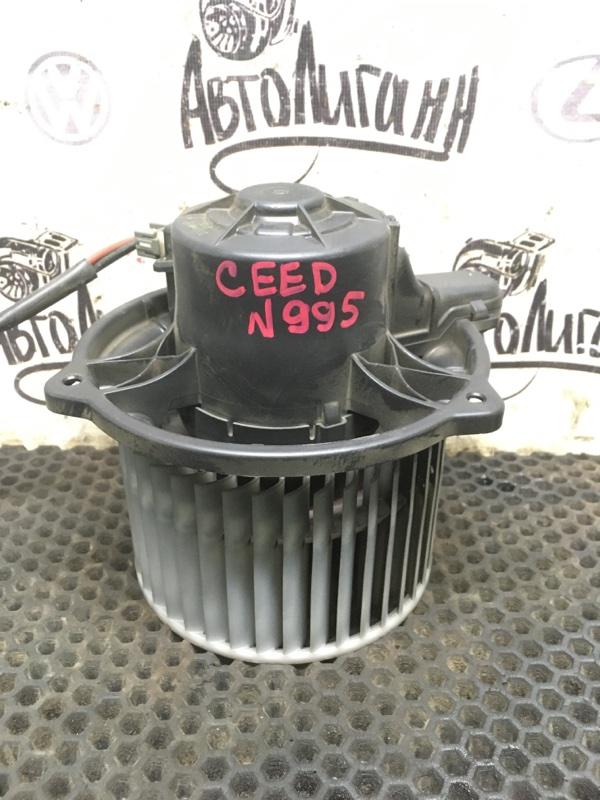 Моторчик печки Kia Ceed УНИВЕРСАЛ G4FC 2009 (б/у)