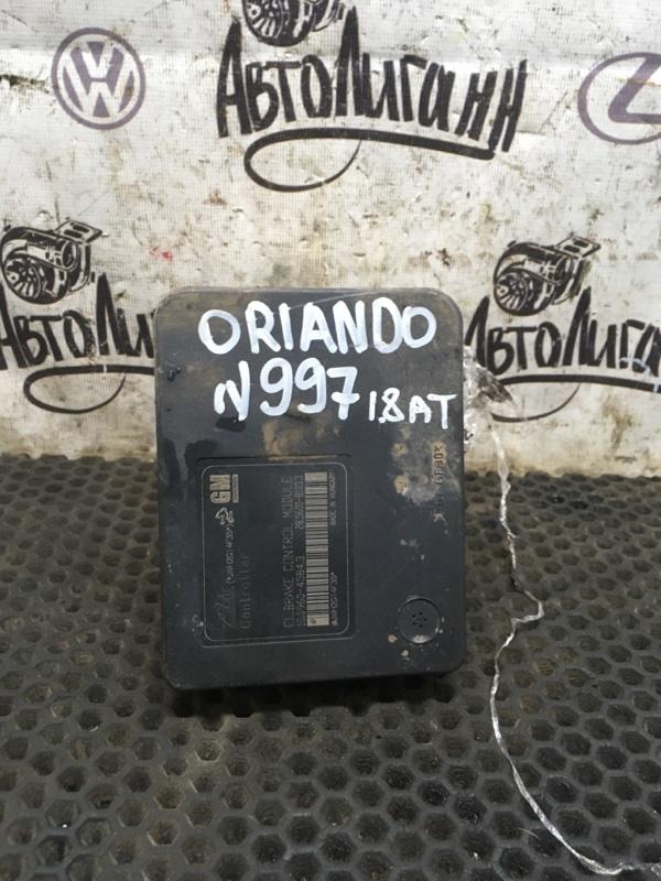 Блок abs Chevrolet Orlando F18D4 2012 (б/у)