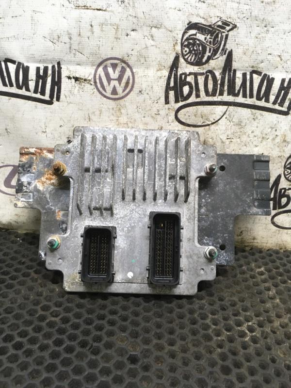 Блок управления двигателем Chevrolet Aveo T300 СЕДАН F16D4 2013 (б/у)