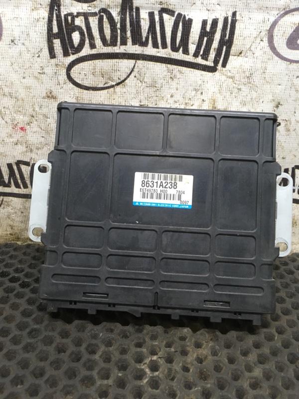Блок управления двигателем Mitsubishi Pajero 4 6G75 2007 (б/у)