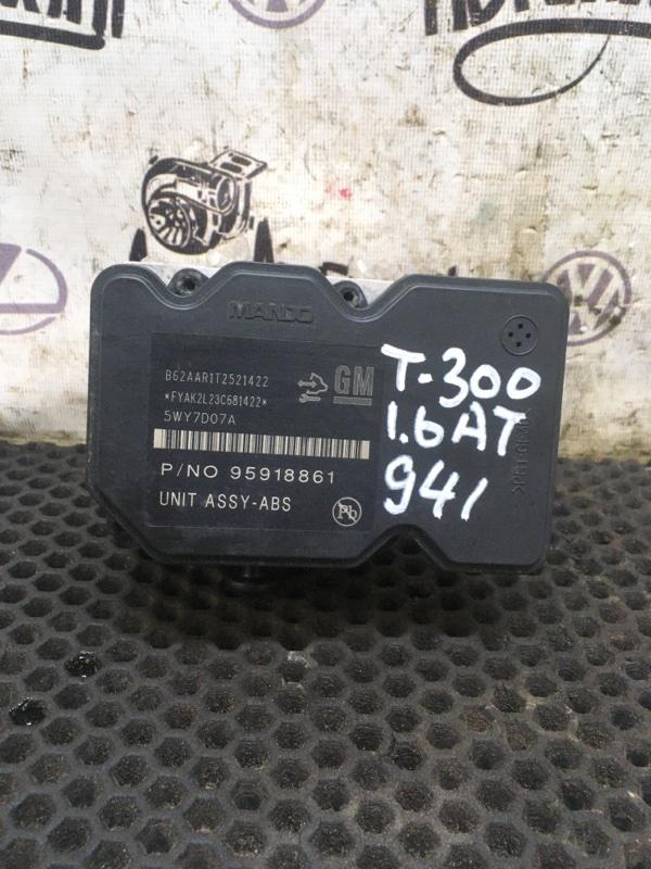 Блок abs Chevrolet Aveo T300 СЕДАН F16D4 2013 (б/у)