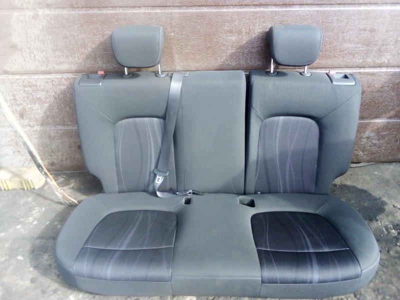 Сиденье Chevrolet Aveo T300 СЕДАН F16D4 2013 заднее (б/у)