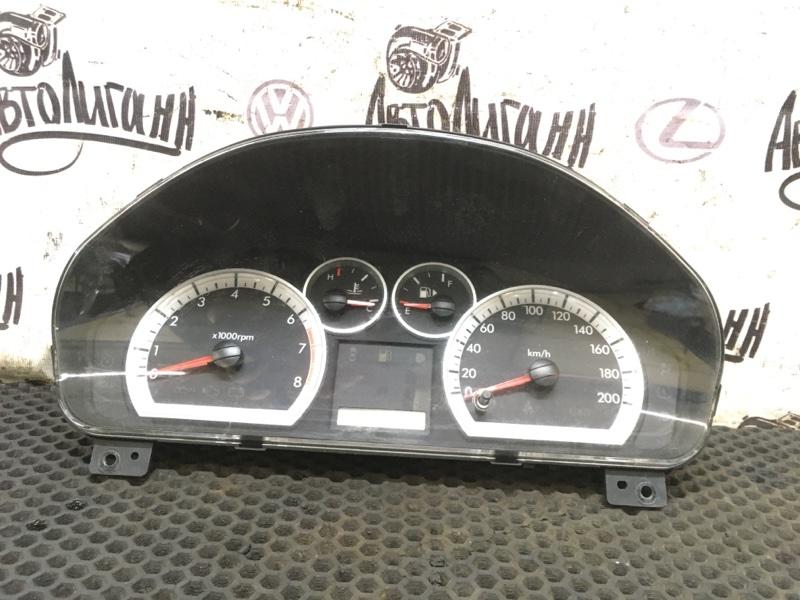 Щиток приборов Chevrolet Aveo T 250 F14D3 2007 (б/у)