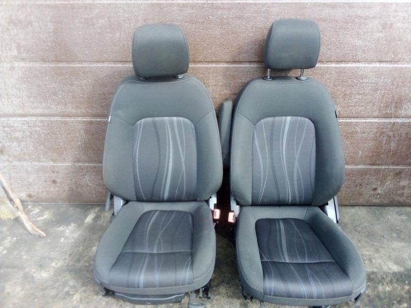 Сиденье Chevrolet Aveo T300 СЕДАН F16D4 2013 переднее (б/у)