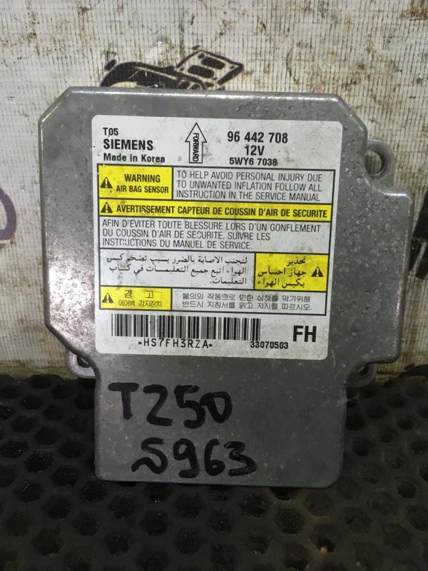 Блок srs Chevrolet Aveo T 250 F14D3 2007 (б/у)