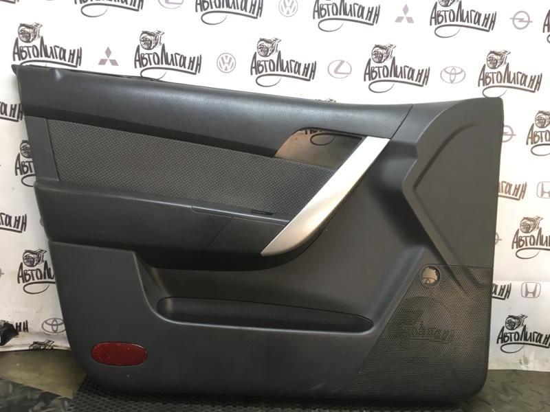 Обшивка двери Chevrolet Aveo T 250 F14D3 2007 (б/у)