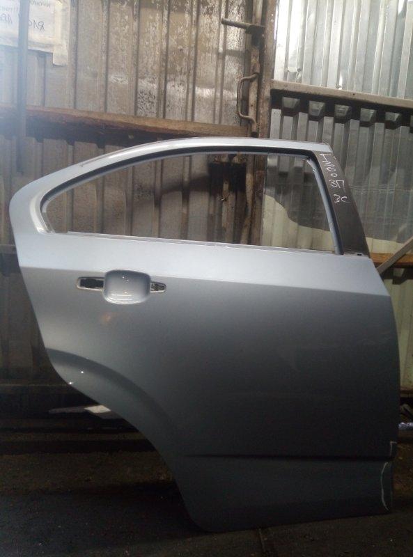 Дверь Chevrolet Aveo T300 СЕДАН F16D4 2013 задняя правая (б/у)
