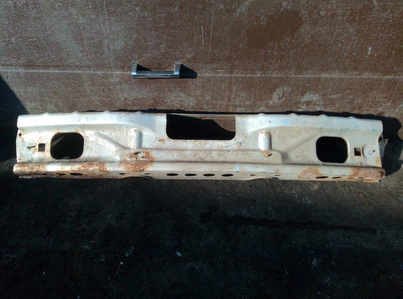 Усилитель бампера Chevrolet Niva 2123 2008 задний (б/у)