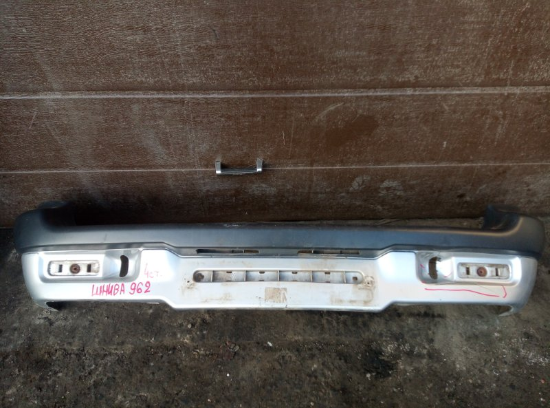 Бампер Chevrolet Niva 2123 2008 задний (б/у)