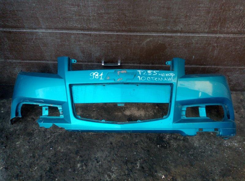 Бампер Chevrolet Aveo T 255 ХЭТЧБЕК F14D4 2009 передний (б/у)