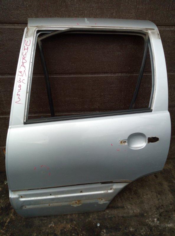 Дверь Chevrolet Niva 2123 2008 задняя левая (б/у)