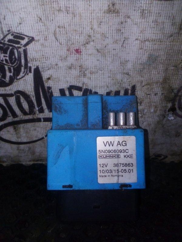 Блок управления топливным насосом Volkswagen Tiguan 2.0 2009г (б/у)