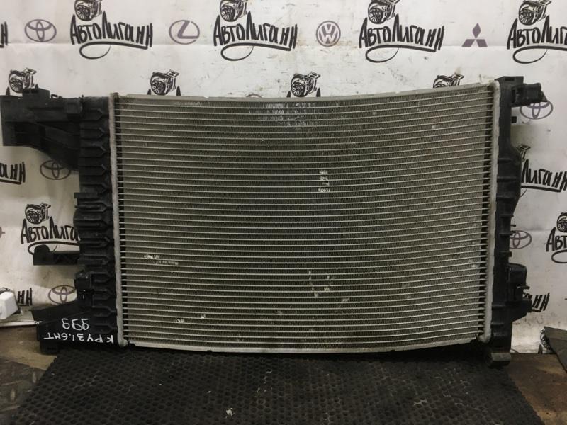 Радиатор охлаждения Chevrolet Cruze СЕДАН F16D3 2012 (б/у)