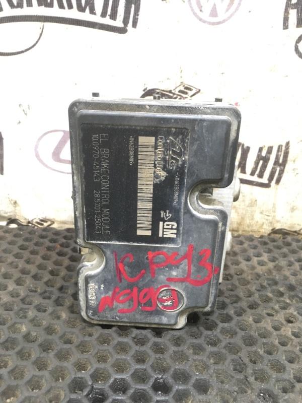 Блок abs Chevrolet Cruze СЕДАН F16D3 2012 (б/у)