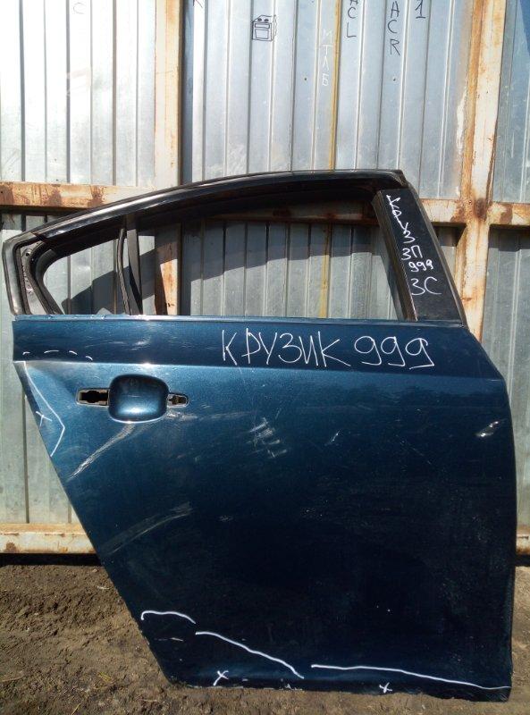 Дверь Chevrolet Cruze СЕДАН F16D3 2012 задняя правая (б/у)