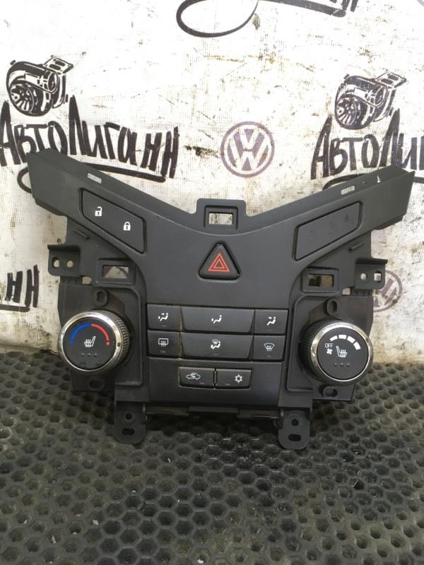 Блок управления отопителем Chevrolet Cruze СЕДАН F16D3 2012 (б/у)