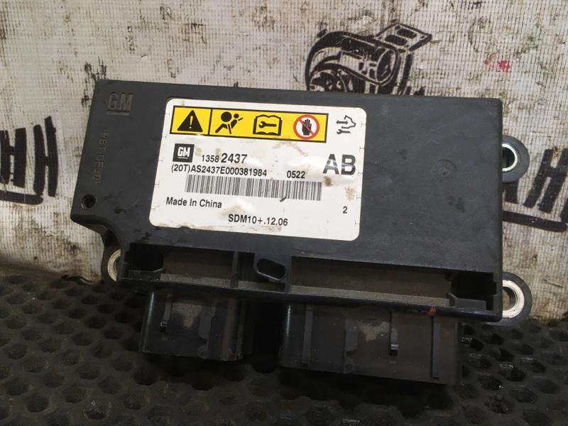 Блок srs Chevrolet Cruze СЕДАН F16D3 2012 (б/у)