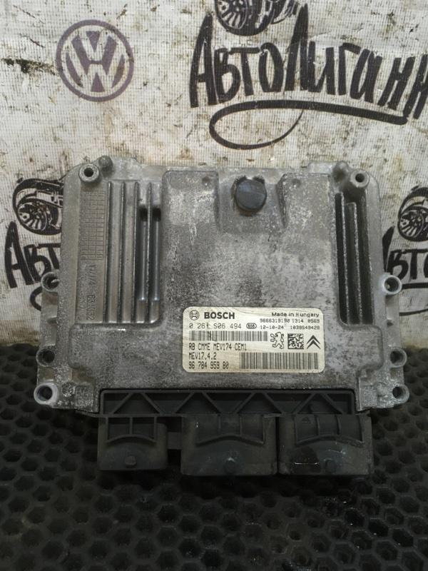 Блок управления двигателем Peugeot 408 EP6 2012 (б/у)
