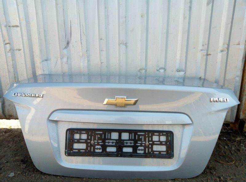Крышка багажника Chevrolet Aveo T300 СЕДАН F16D4 2013 (б/у)