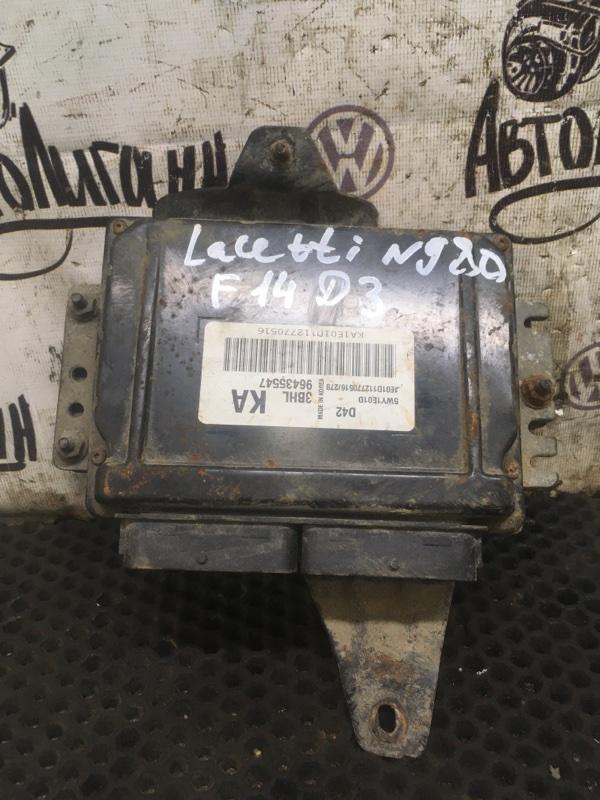 Блок управления двигателем Chevrolet Lacetti СЕДАН F14D3 2011 (б/у)