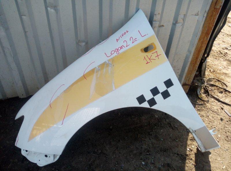 Крыло Renault Logan 2 K7MA812 2018 левое (б/у)