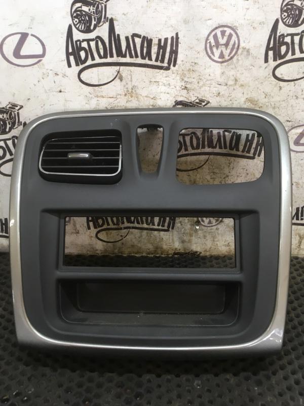 Рамка магнитолы Renault Logan 2 K7MA812 2018 (б/у)