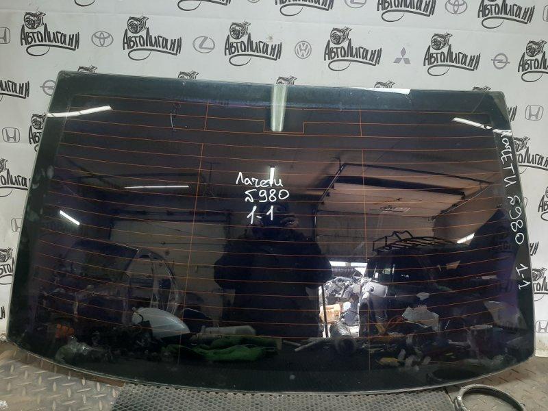 Стекло Chevrolet Lacetti СЕДАН F14D3 2011 заднее (б/у)