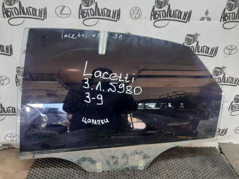 Стекло Chevrolet Lacetti СЕДАН F14D3 2011 заднее левое (б/у)