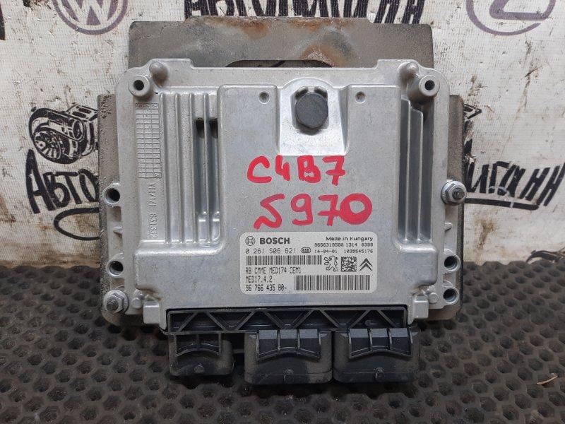 Блок управления двигателем Citroen C4 B7 СЕДАН EP6CDTMD 2014 (б/у)