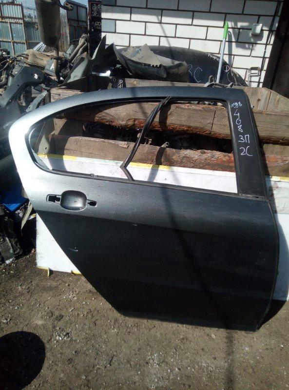Дверь Peugeot 408 EP6 2012 задняя правая (б/у)