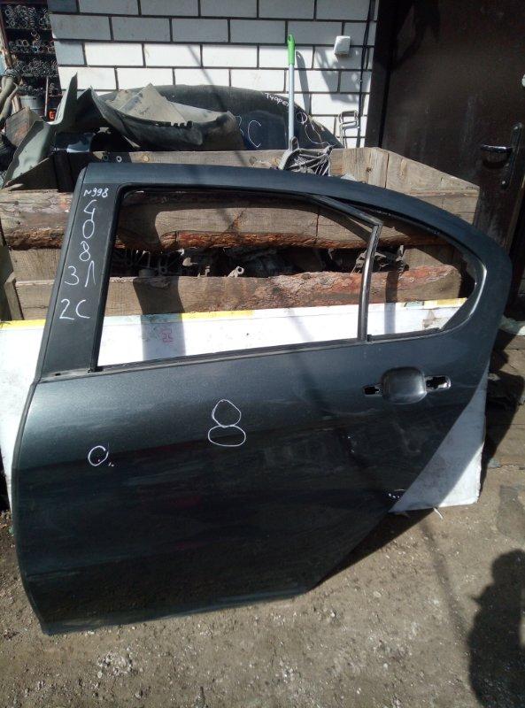 Дверь Peugeot 408 EP6 2012 задняя левая (б/у)