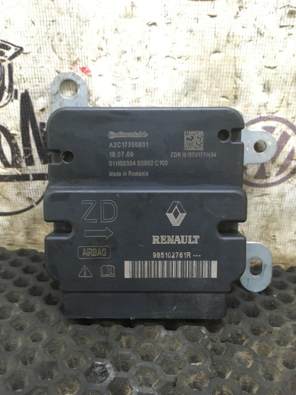 Блок srs Renault Logan 2 K7MA812 2018 (б/у)
