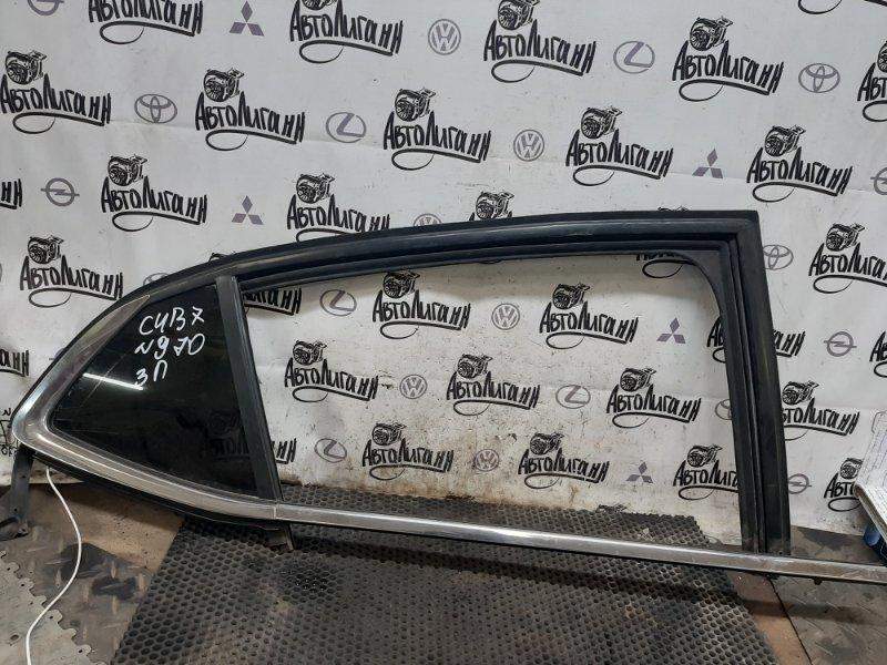 Форточка двери Citroen C4 B7 СЕДАН EP6CDTMD 2014 задняя правая (б/у)
