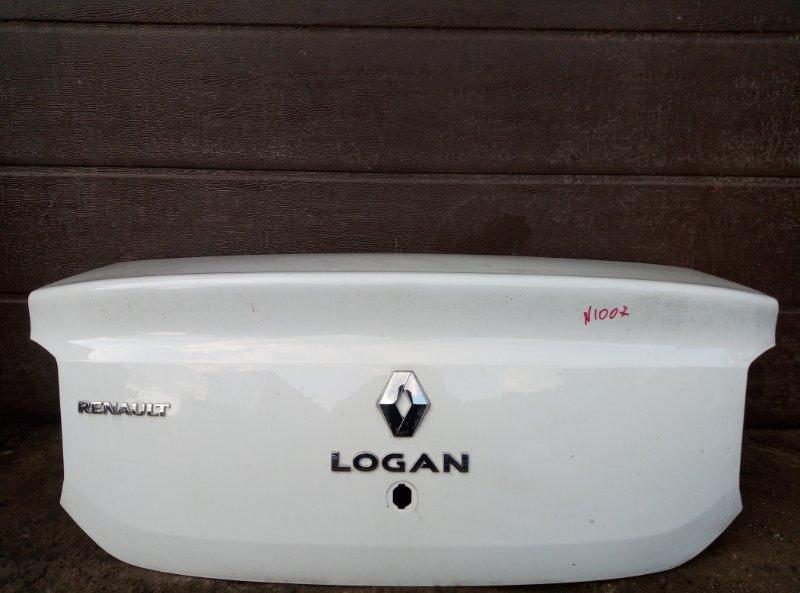 Крышка багажника Renault Logan 2 K7MA812 2018 (б/у)