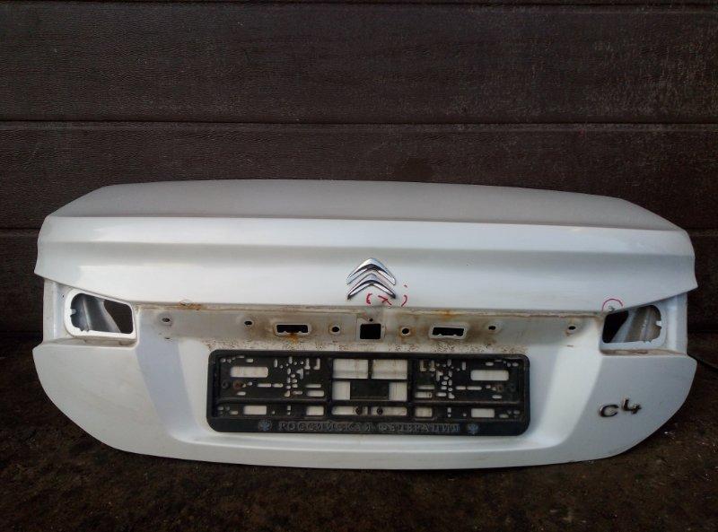 Крышка багажника Citroen C4 B7 СЕДАН EP6CDTMD 2014 (б/у)