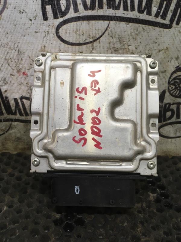Блок управления двигателем Hyundai Solaris ХЭТЧБЕК G4FA 2011 (б/у)