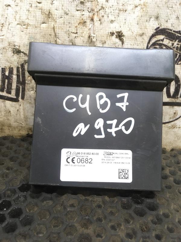 Блок электронный Citroen C4 B7 СЕДАН EP6CDTMD 2014 (б/у)