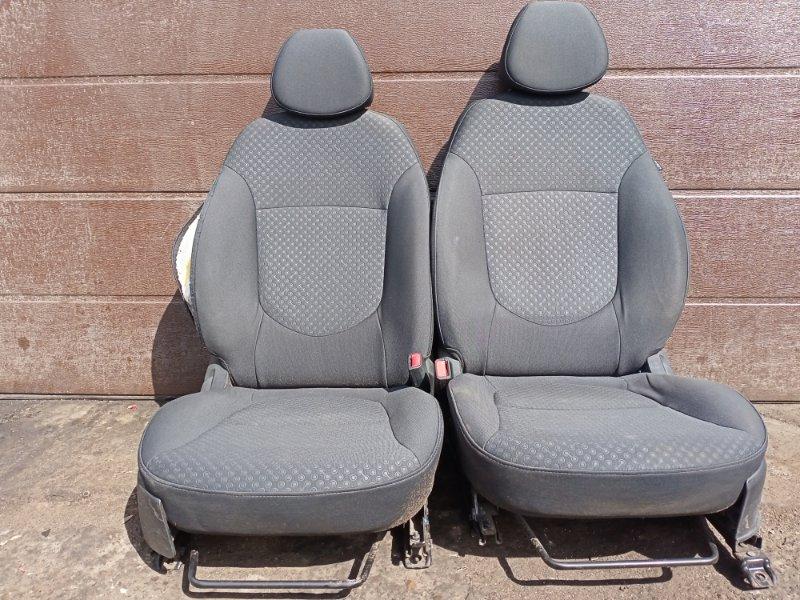 Сиденье Hyundai Solaris ХЭТЧБЕК G4FA 2011 переднее (б/у)
