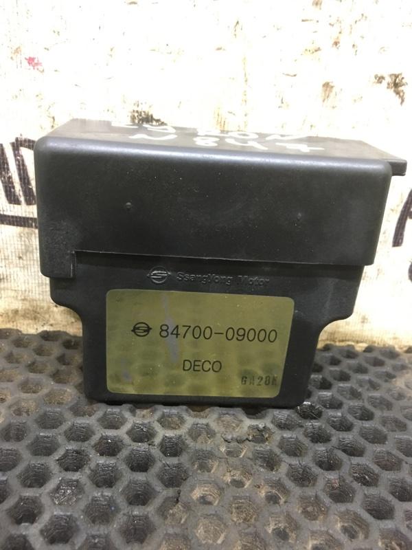 Блок накала свечей Ssang Yong Kyron D20DT 2008 (б/у)