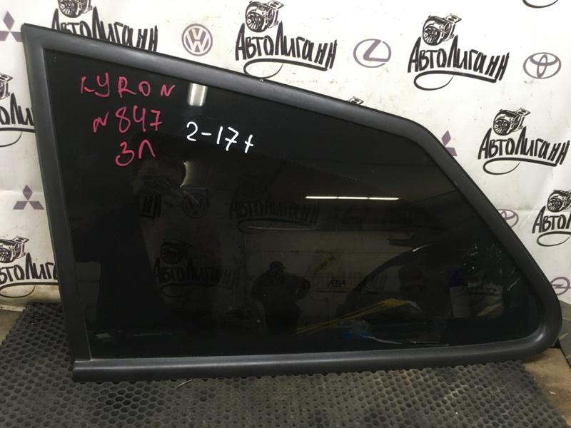 Форточка в крыло Ssang Yong Kyron D20DT 2008 задняя левая (б/у)