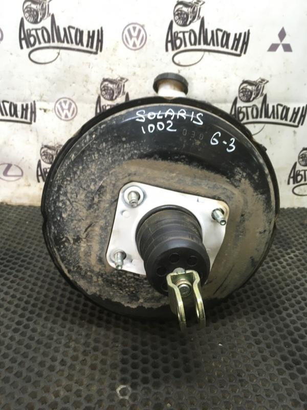 Вакуумный усилитель тормозов (вут) Hyundai Solaris ХЭТЧБЕК G4FA 2011 (б/у)