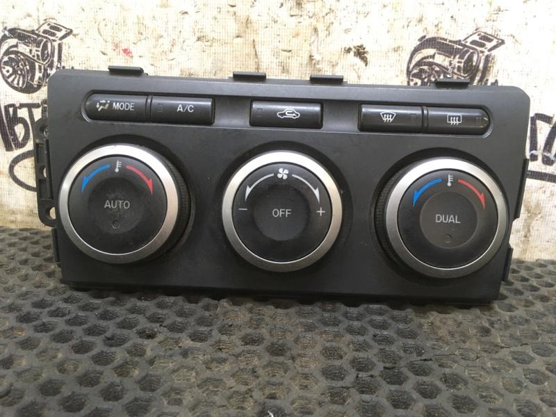 Блок управления климат-контролем Mazda 6 Gh (б/у)