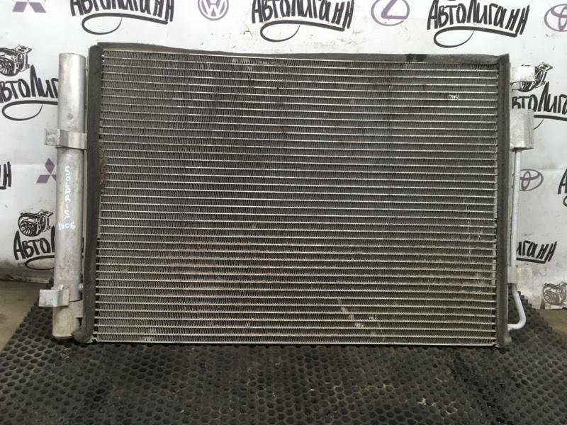 Радиатор кондиционера Hyundai Solaris СЕДАН G4FA 2014 (б/у)