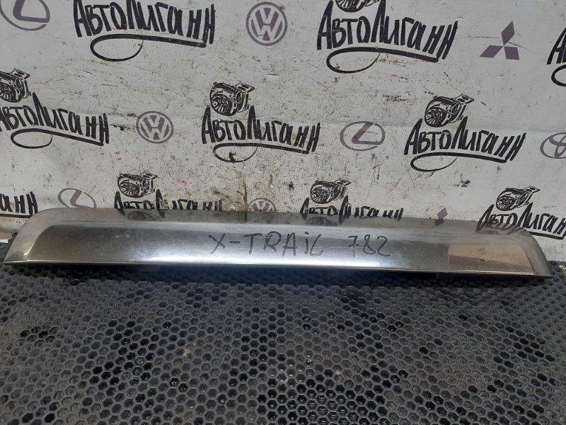 Накладка крышки багажника Nissan X-Trail MR20 2011 (б/у)