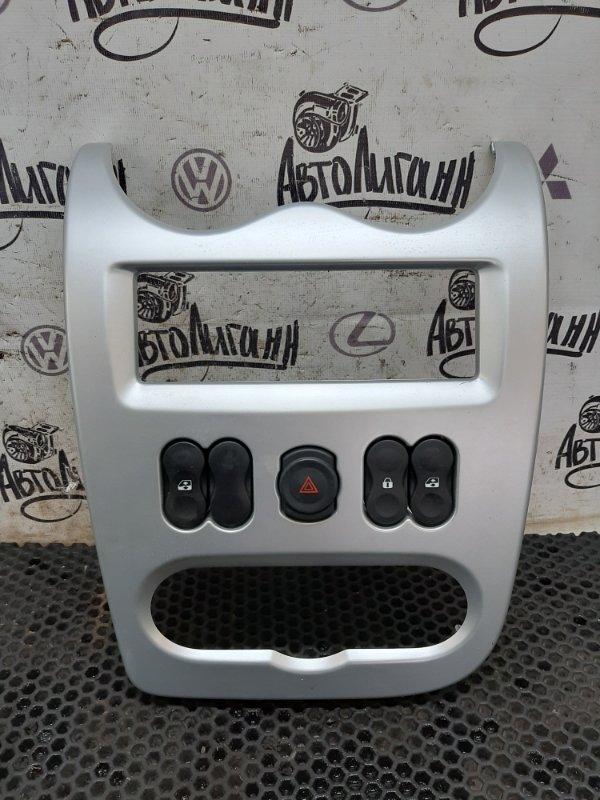 Рамка магнитолы Renault Sandero (б/у)