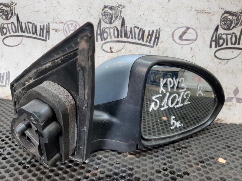 Зеркало Chevrolet Cruze СЕДАН F16D3 2010 переднее правое (б/у)
